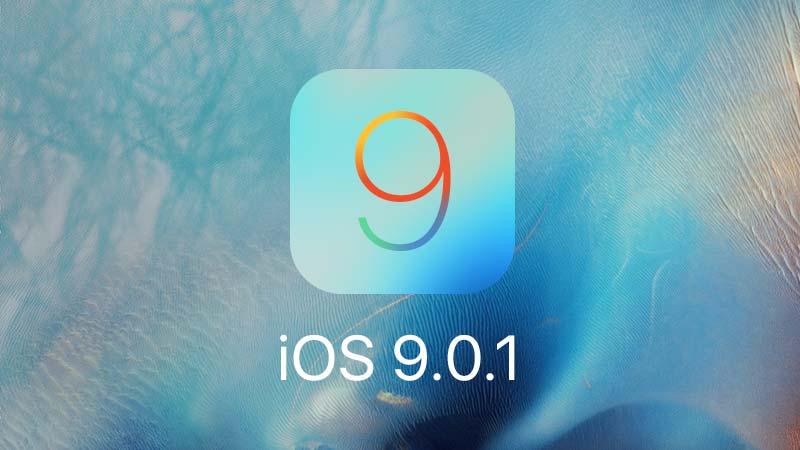 تحديث iOS 9.0.1