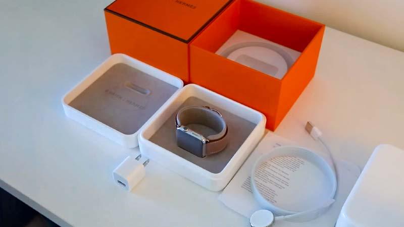 ساعة Apple Watch نسخة Hermes