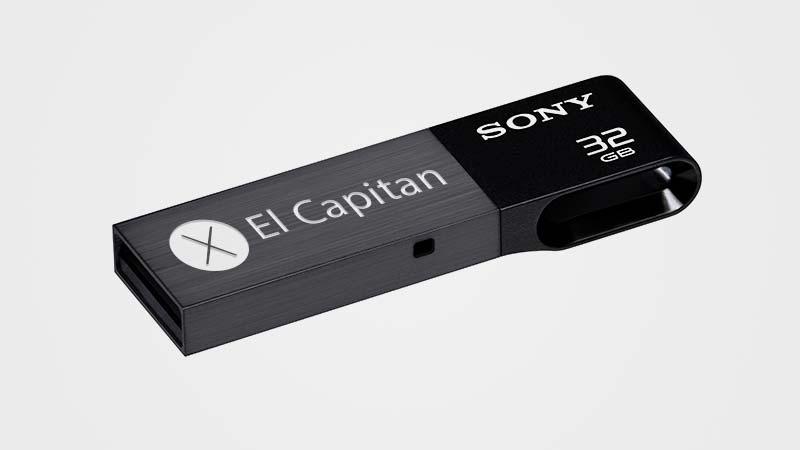 تثبيت ماك OS X El Capitan على ذاكرة فلاش