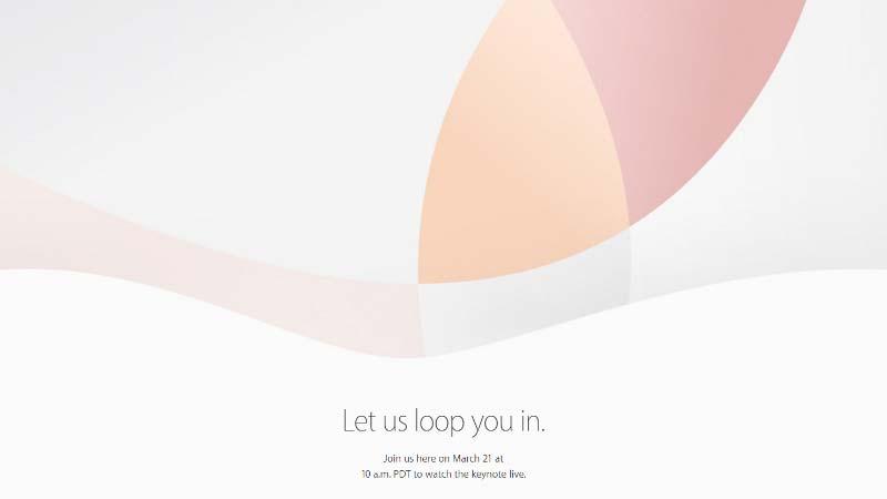 مؤتمر Apple في 21 مارس 2016