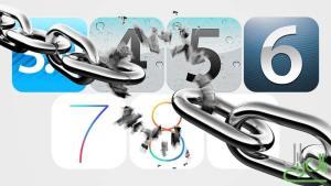جيلبريك iOS 3 و4 و5 و6 و7 و8 و9