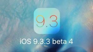 تحديث iOS 9.3.3 بيتا 4