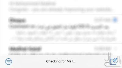 شعار فلترة البريد في iOS 10 بيتا 2