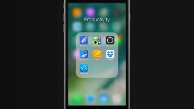 شفافية الخلفية في iOS 10 بيتا 2