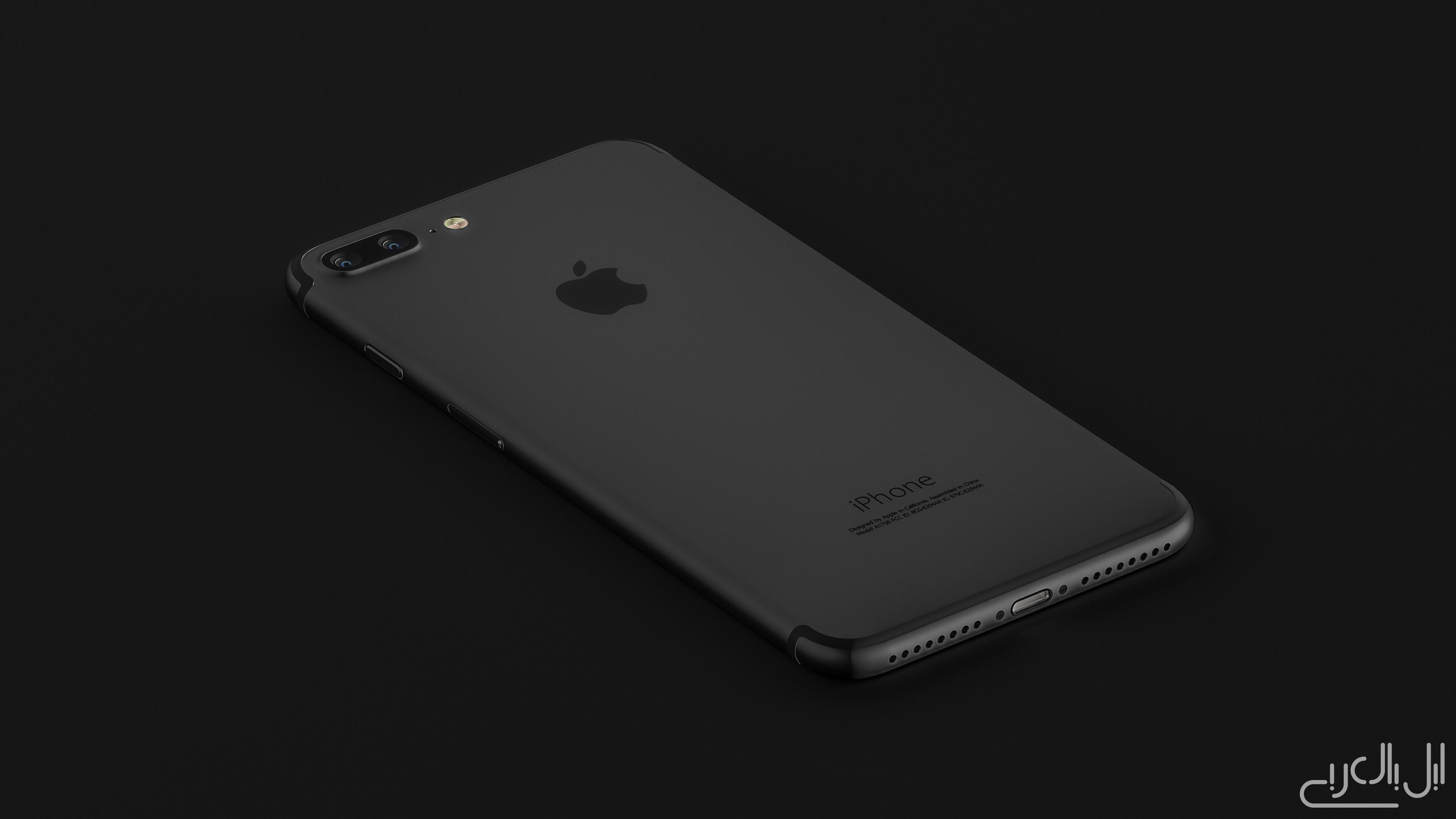 الايفون 7 بلس أسود