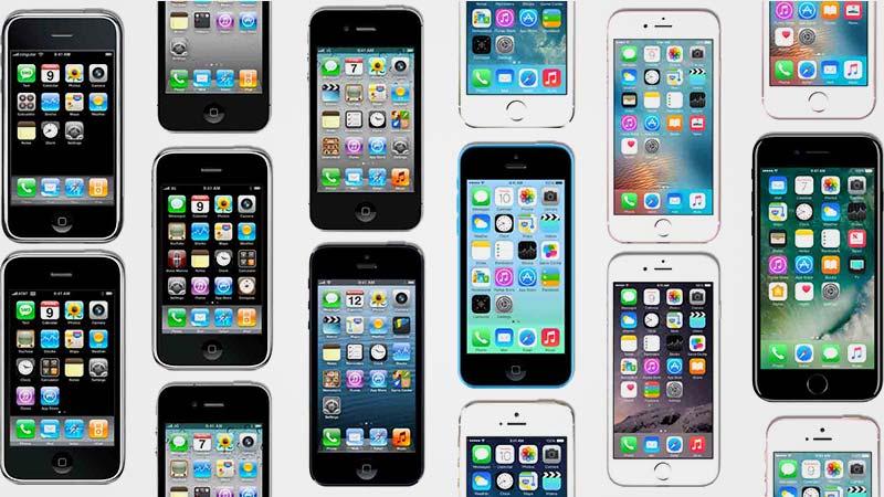 جميع الايفونات حتّى 7 - 10 أعوام على الايفون