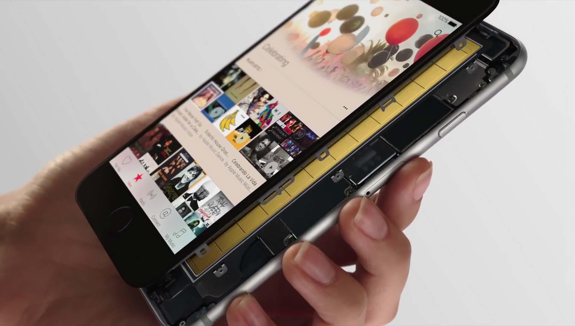 تقنية 3D Touch في الايفون 6s