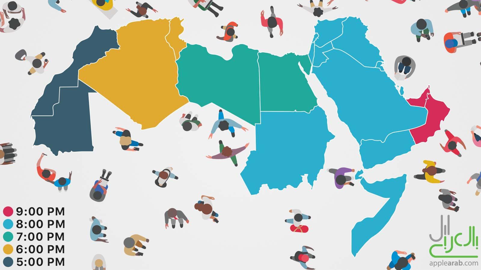 توقيت مؤتمر WWDC 2017 في الدول العربية