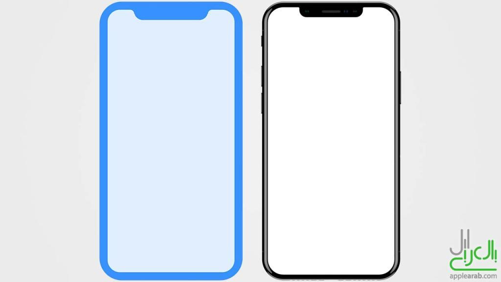 ايفون 8 حقيقي وXcode