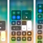 تخصيص مركز تحكم iOS 11