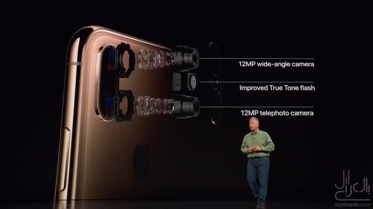 كاميرا ايفون XS