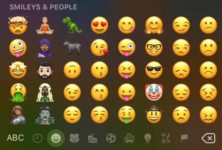 ios 11.1 beta 2 emojis