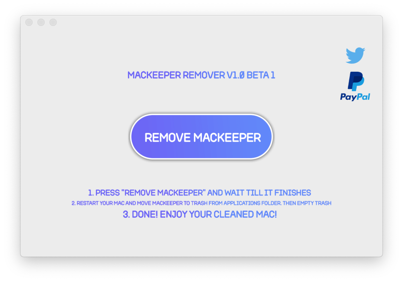 How to uninstall MacKeeper from your Mac with one Click! MacKeeperRemover  app 2018 - AppleDigger