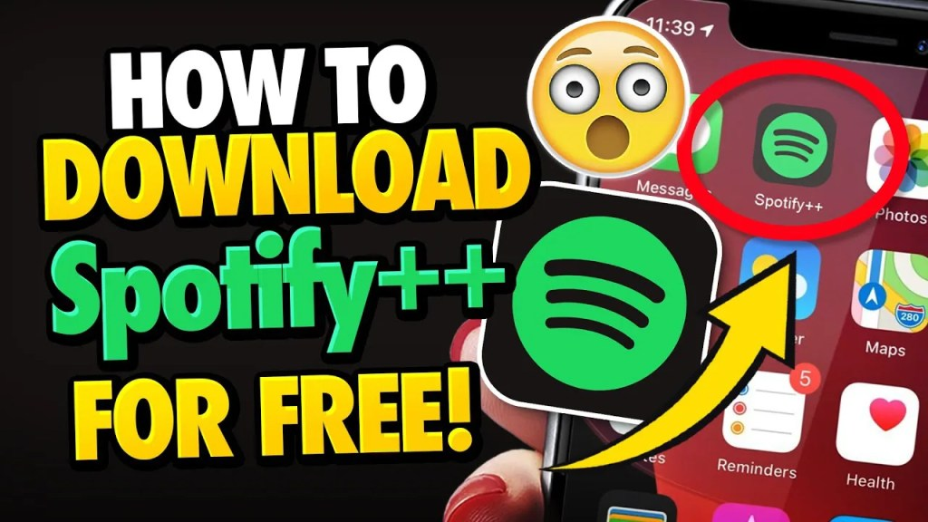 Spotify++ download free 2020 ios iphone