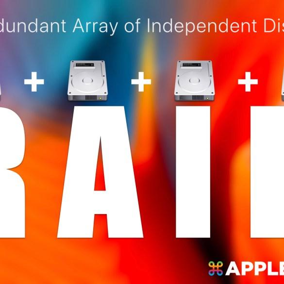 macOS 組 RAID
