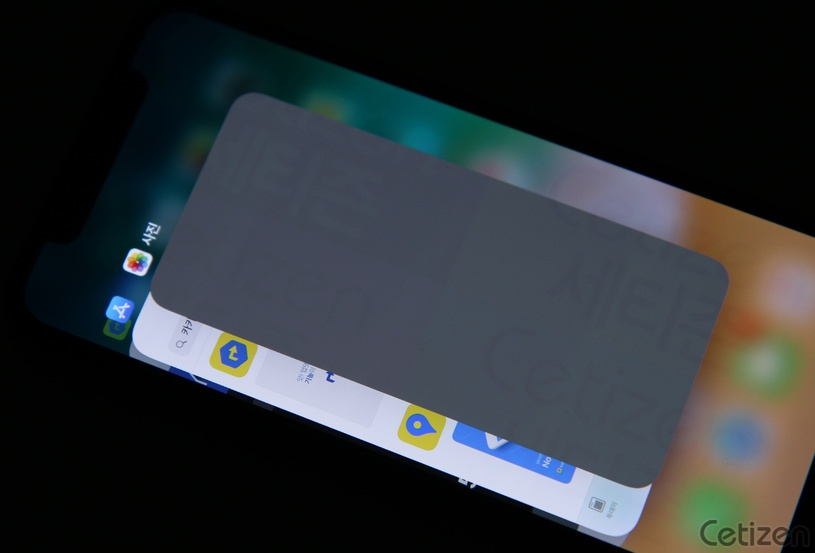 iPhone X 螢幕烙印