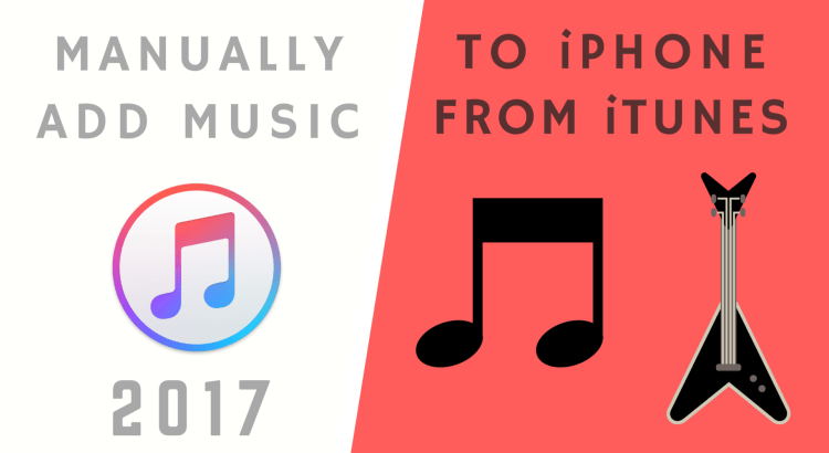 How to manually add Music to iPhone, iPad or iPod Touch from