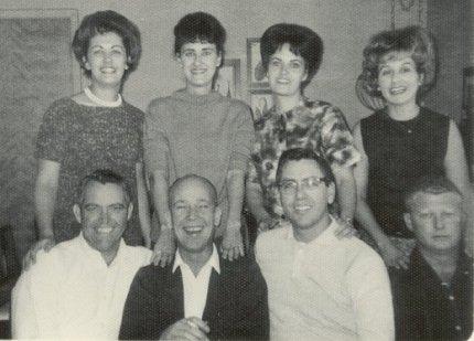 Grace, Ann, Barb, Sue, Richard, Larry, Don, Dick, 1966