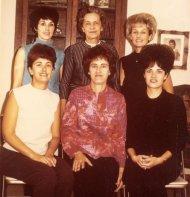 Rica, Maggie, Sue, Grace, Ann, Barb, 1967