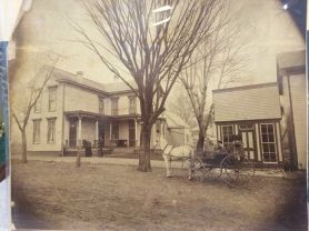 Early photo of Corydon, at 304 N. Elm St.
