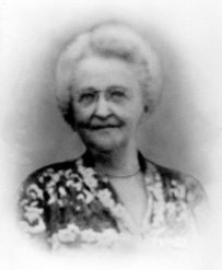 Anna Mauzy Patten (1878-1955), 2nd wife of Vernon Cole Patten (Patty Doc). We called her Mama Pat.