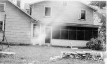 Back of our Corydon house