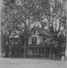 Dr. William Daniel home, northwest corner of N. Capitol and W. Walnut St., Corydon, Indiana