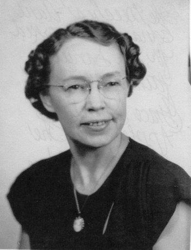 Edna Meech, who worked for Dr. William Daniel in Corydon for several years
