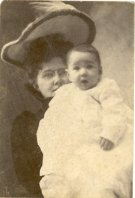 Grace Daniel Applegate and Ted Applegate, 1903