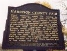 Harrison County Fairgrounds sign