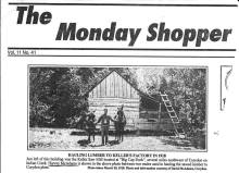 Hauling lumber, 1918