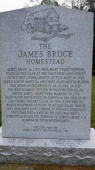 James Bruce plaque