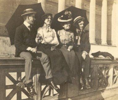 Julia Ann and Vernon Cole Patten on right