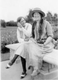 Maggie Patten and Blanche Gordon Kelly