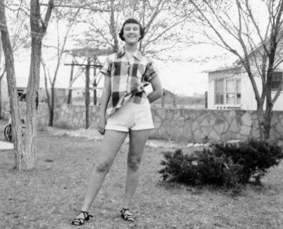Ann in Monahans, 1950