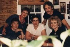 Barb, Ann, Bill, Pete, Julie, 1987