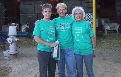 Barb, Grace, Rica, 2002, Pueblo, Colorado