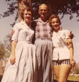 Grace, Ted, Sue, 1957, Monahans