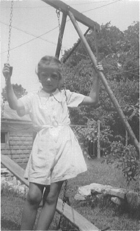 Grace about 8 or 9 years, Corydon