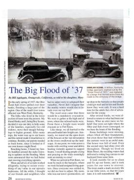 Flood of 1937, Corydon