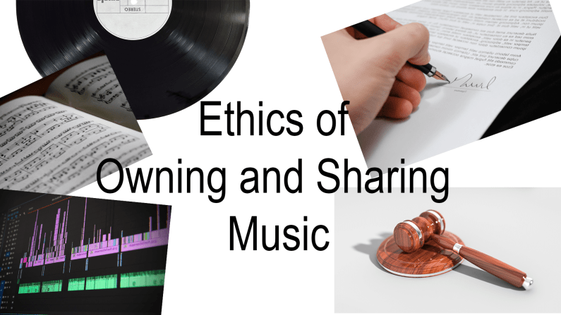 Ethics of Owning Music