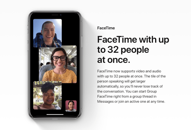 FaceTime Group Calls