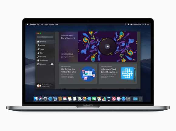 macOS Mojave: App Store