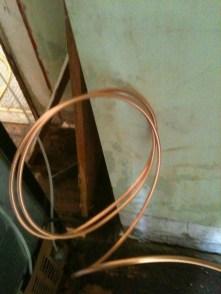 copper line
