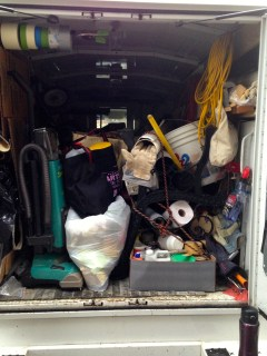 Moving out -- the last load