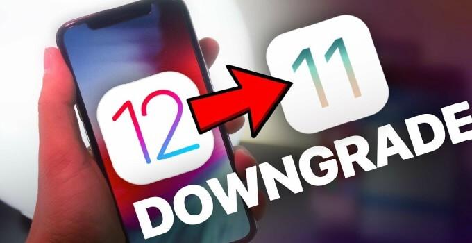 طريقة الرجوع للإصدار iOS 11.4.1 بعد التحديث إلى الأصدار iOS 12