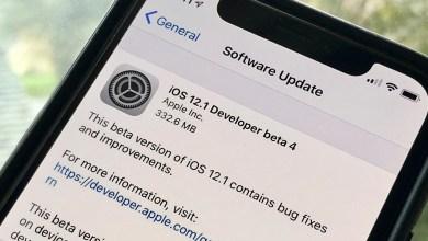 تحميل إصدار iOS 12.1 Beta 4 بدون حساب مطور