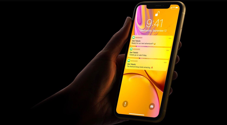 تصريح شركة آبل إن iPhone XR هو أفضل جهاز مبيعا حتى اليوم منذ إطلاقه