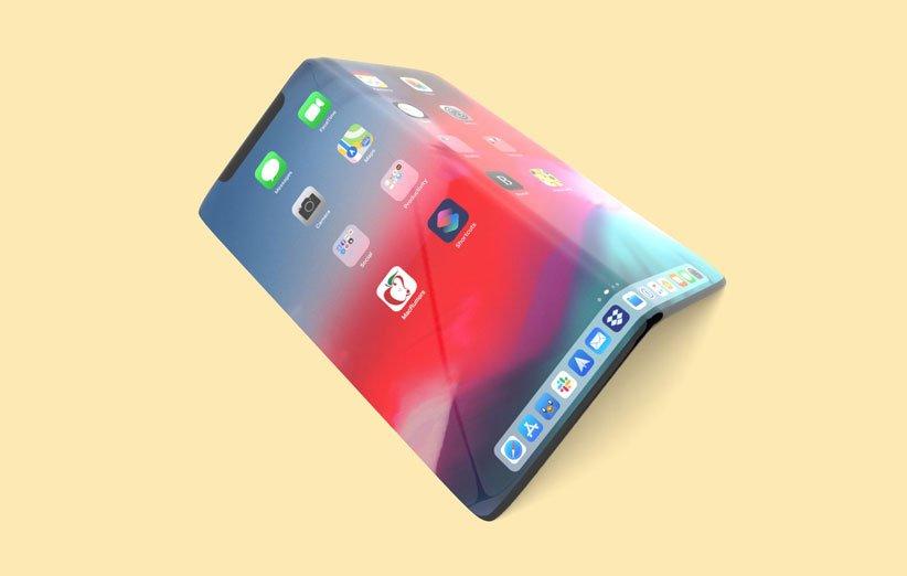 ابل تختبر هاتف iPhone القابل للطي ومستشعر بصمات الأصابع تحت الشاشة