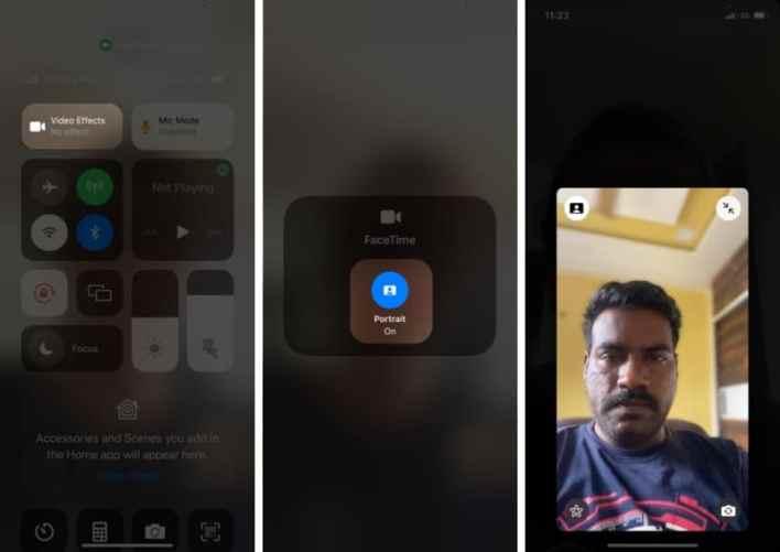 كيفية تعتيم الخلفية في مكالمات فيديو FaceTime في iOS 15